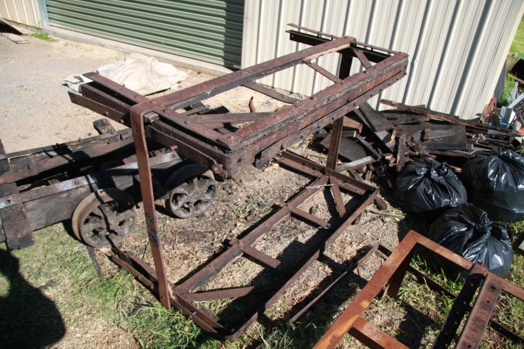 Early 1900's Coal Skip Before restoration